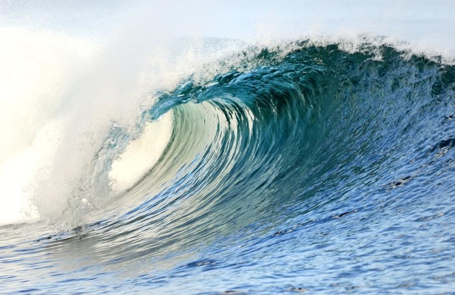 photo vague bleu parfaite tube