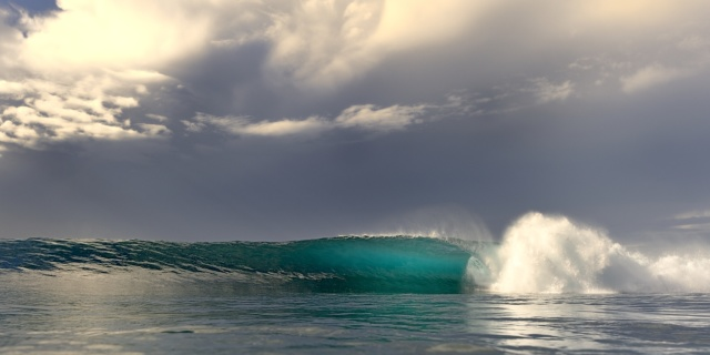 Magnifique photo de vague Mentawaï Watershot