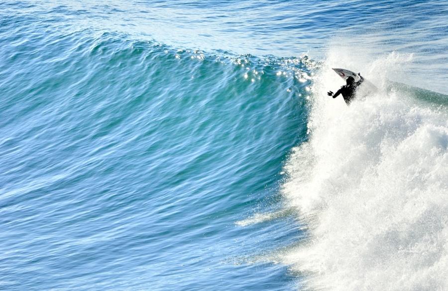 photo champion de surf Tom Curren Californie